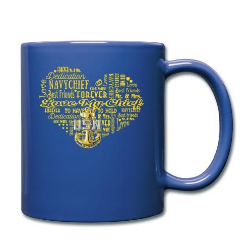 US Navy Chief Wife - Full Color Mug