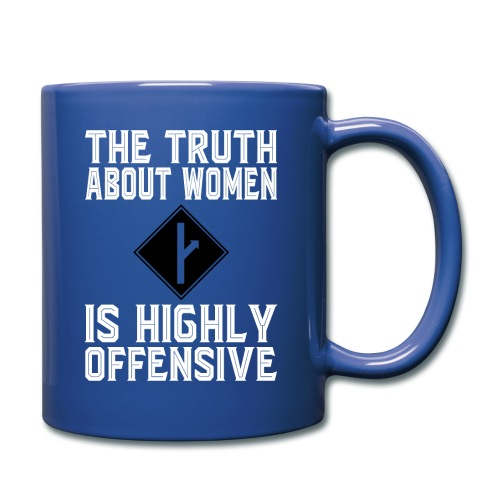 the truth about women white version - Full Color Mug