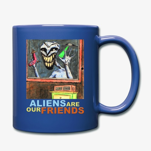 Aliens Are Our Friends - Full Color Mug