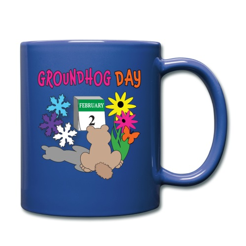 Groundhog Day Dilemma - Full Color Mug