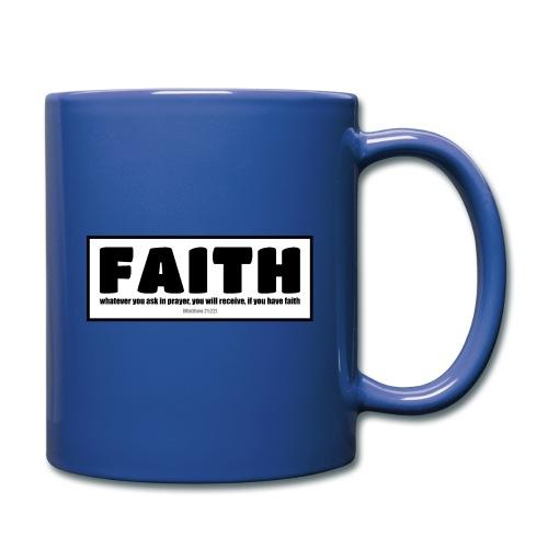 Faith - Faith, hope, and love - Full Color Mug