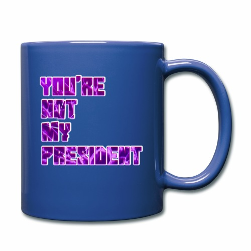 not my president with background - Full Color Mug