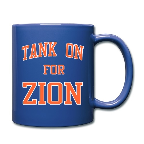 Tank On For Zion - Full Color Mug