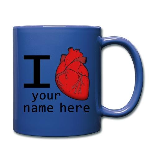 Human Heart - Full Color Mug
