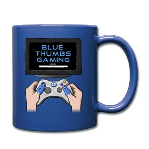 Blue Thumbs Gaming: Gamepad Logo - Full Color Mug