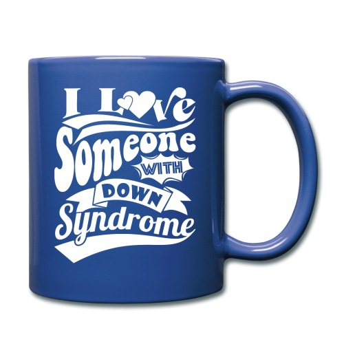 I Love Someone with Down syndrome - Full Color Mug