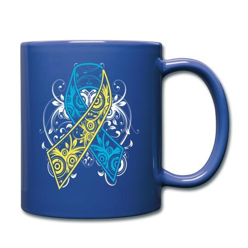Down syndrome Ribbon - Full Color Mug