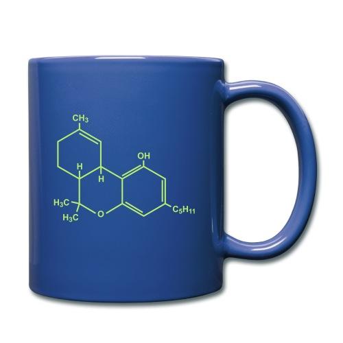 Marijuana (THC) Molecule - Full Color Mug