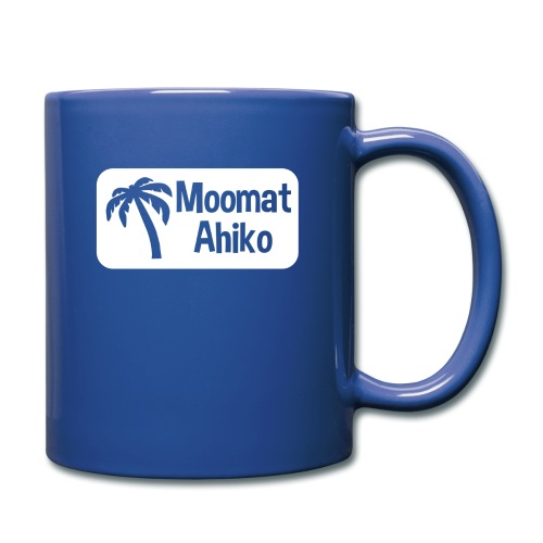 Moomat Ahiko retro white - Full Color Mug