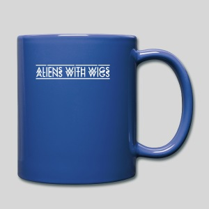 AliensWithWigs-Logo-Blanc - Full Color Mug