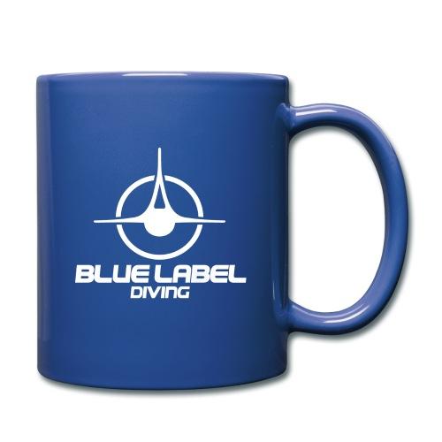 BLD logo with text white - Full Color Mug