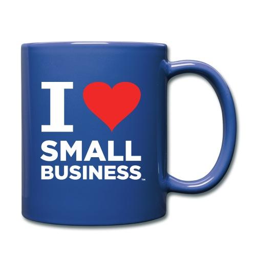 I Heart Small Business Logo (Red & White) - Full Color Mug