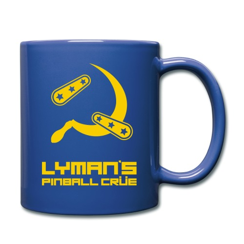 Flipper & Sickle - Yellow - Full Color Mug