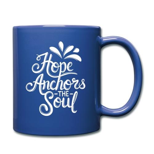 Hope Anchors The Soul - Full Color Mug