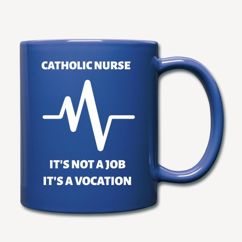 CATHOLIC NURSE - Full Color Mug