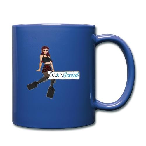 Scarysocial Merch - Full Color Mug