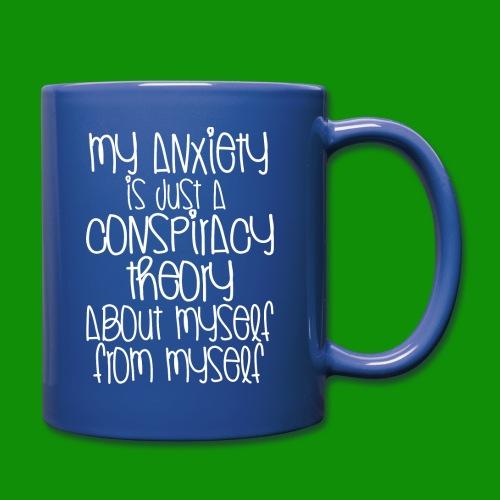Anxiety Conspiracy Theory - Full Color Mug