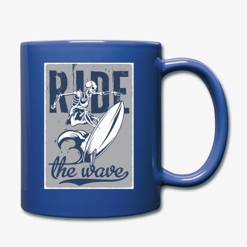 Ride the wave - Full Color Mug