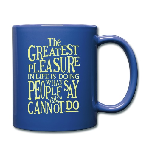 The Greatest Pleasure - Full Color Mug