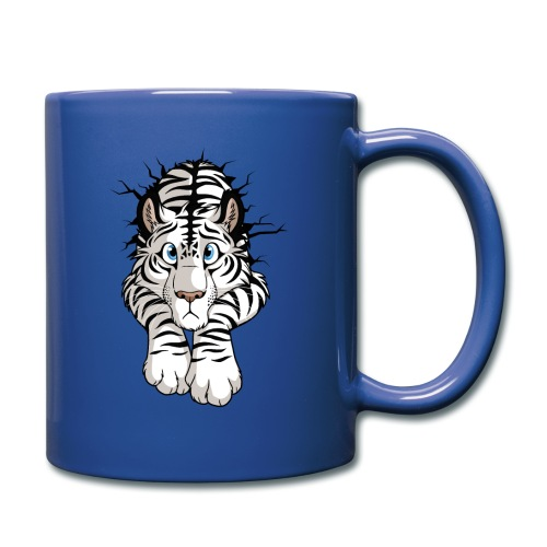 STUCK Tiger White (double-sided) - Full Color Mug