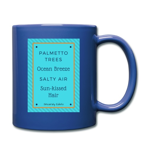Palmetto Trees and Ocean Breeze - Full Color Mug