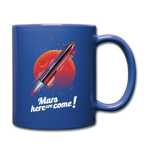 Mars Here We Come - Dark - Full Color Mug