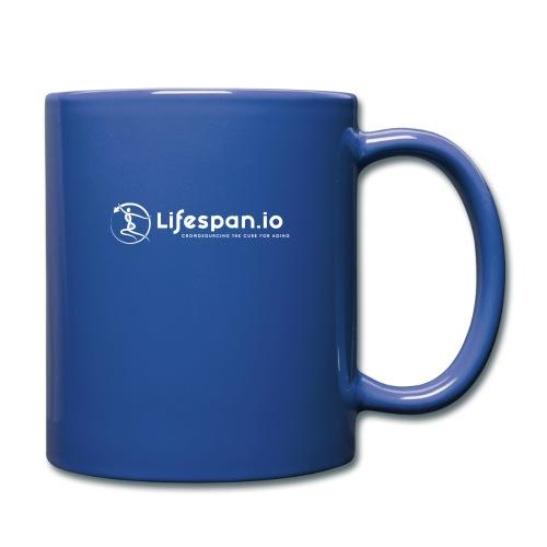 Lifespan.io in white 2021 - Full Color Mug