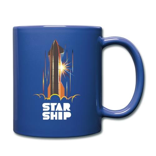 Star Ship Mars - Dark - Full Color Mug