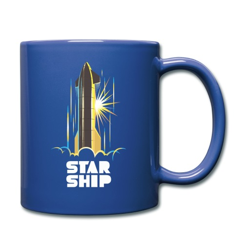 Star Ship Earth - Dark - Full Color Mug