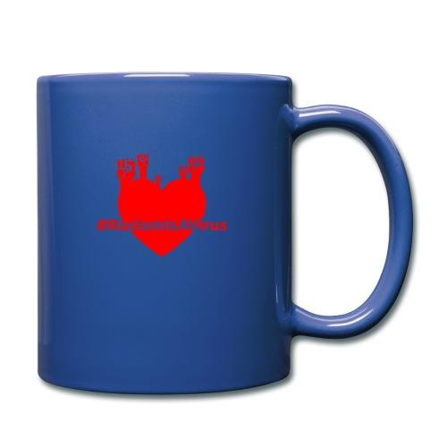 HeartOfFists Hashtag Black - Full Color Mug