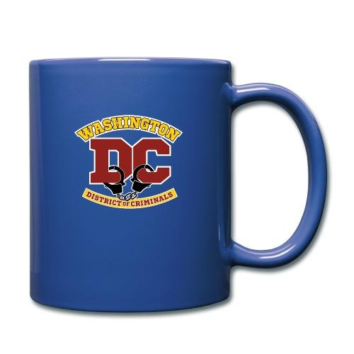 Washington DC - the District of Criminals - Full Color Mug