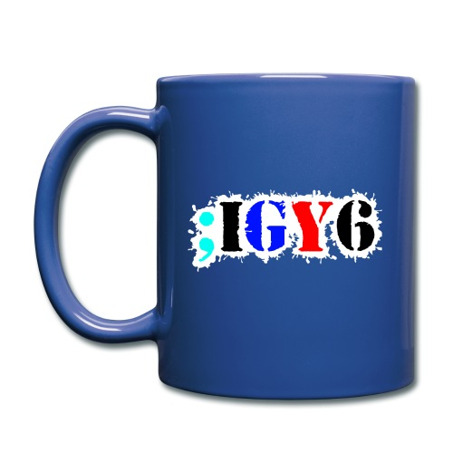 Team IGY6 Red White and Blue official logo - Full Color Mug