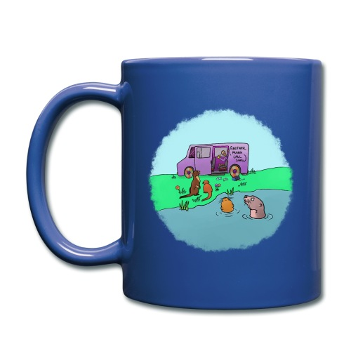 Sleve and the River Otters - Full Color Mug