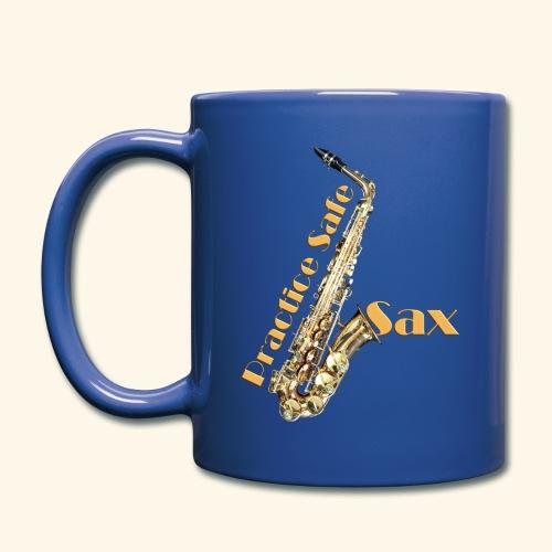Practice safe sax - Full Color Mug
