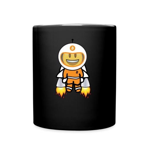 Bit for Buck: Buck's Happy Jetpack Coffee Mug - Full Color Mug