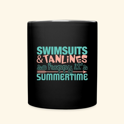 Swimsuits and Tanlines - Full Color Mug