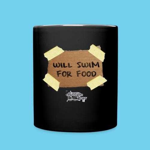 Will Swim For Food - Full Color Mug