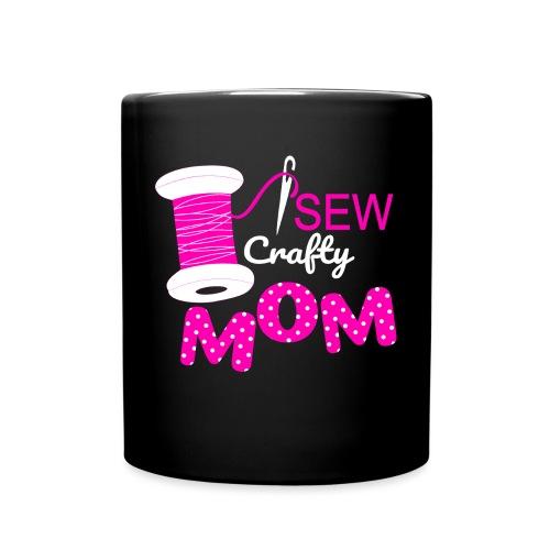 SEW CRAFTY MOM - Full Color Mug