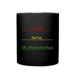 Go Away - Full Color Mug