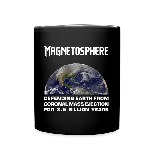 Magnetosphere Defending from Coronal Mass Ejection - Full Color Mug