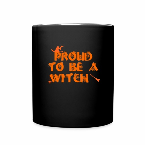 Proud to be a witch - Full Color Mug