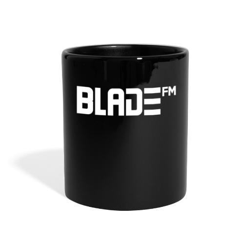 White BladeFM Logo - Full Color Mug