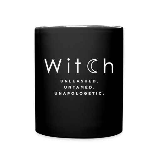 Witch unleashed untamed unapologetic shirt - Full Color Mug
