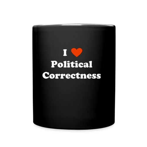 I Heart Political Correctness - Full Color Mug