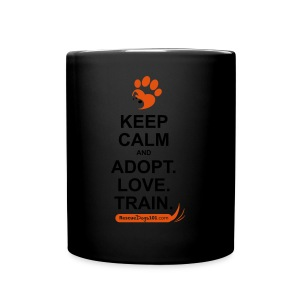 RescueDogs101 Keep Calm - Full Color Mug