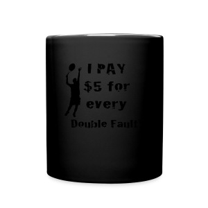 Tennis Double Fault - Full Color Mug