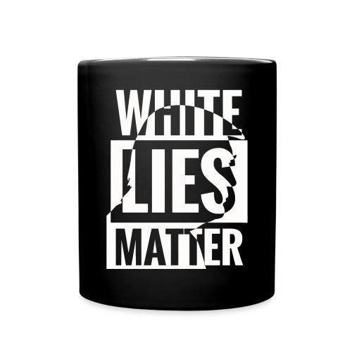 Trump white lies matter shirt - Full Color Mug