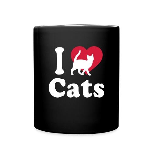 I Love Cats Tshirt - Full Color Mug