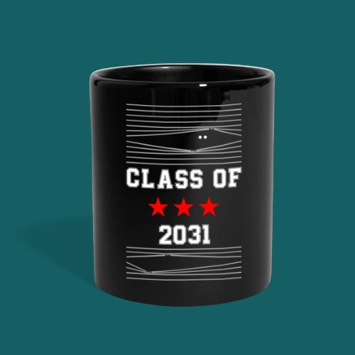 Class Of 2031 T Shirt First day of school - gift - Full Color Mug