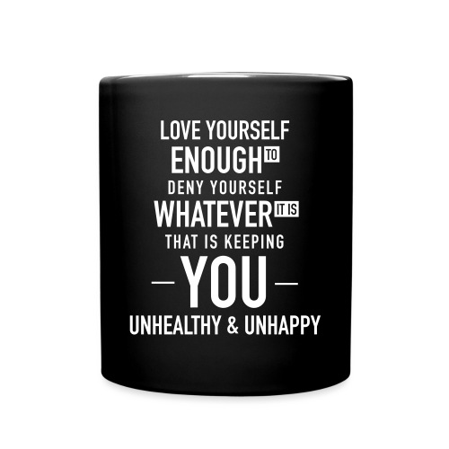 Love Yourself Design - Full Color Mug